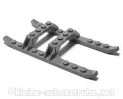 LS/ Lego vehicle ski / old-dark grey