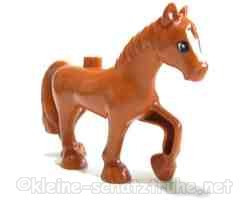 Duplo horse / light brown